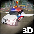 Download Flying Police Car Simulation APK on PC