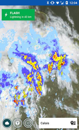 Lightning Alarm Weatherplaza - screenshot