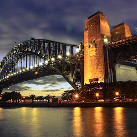 Sydney Harbour Bridge  by Angela Taya - Buildings & Architecture Bridges & Suspended Structures