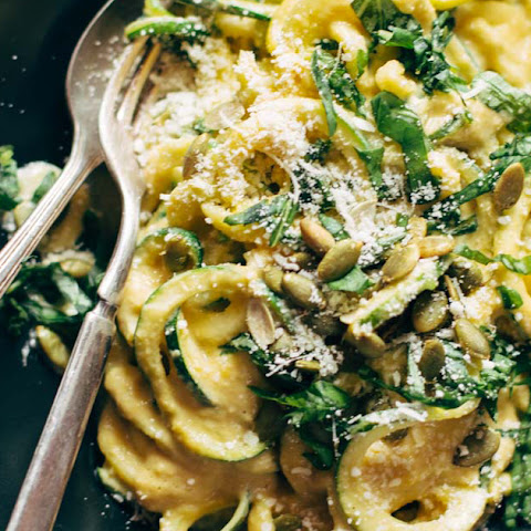 Next Level Zoodles with Creamy Sweet Corn Sauce