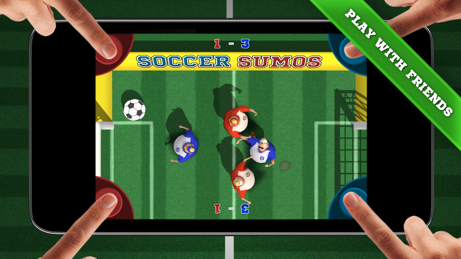 Soccer Sumos - Party game! Screenshot