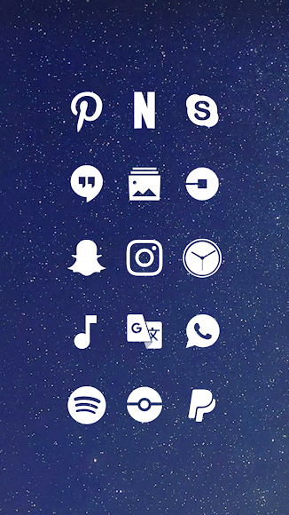 Whicons - White Icon Pack 9.5.7