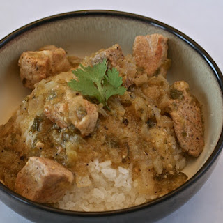 Pork Chile Verde - Colorado Style