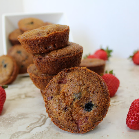 Clean Eating Lemon Berry Muffins