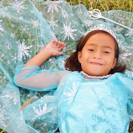 Let it go! Let it go! by Mark Darren Layaoen - Babies & Children Children Candids ( princess, snow, cute, frozen, mini )