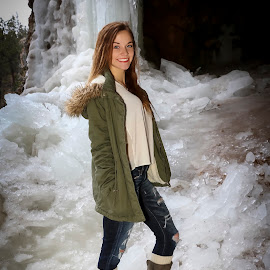 Ice by Dave Zuhr - People Portraits of Women ( ice, beautiful, d_zuihr, frozen, dzuhr, dangerous )