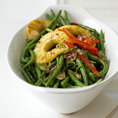 Green Beans with Peppers