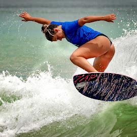 OBX Skim Jam 2015  by Lawayne Kimbro - Sports & Fitness Surfing