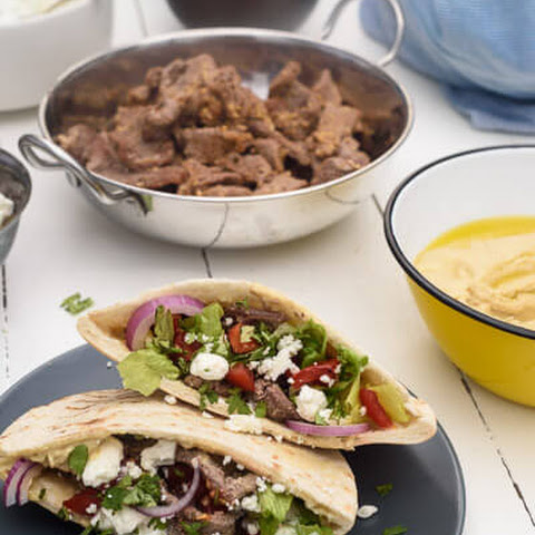 Weeknight Beef Gyro