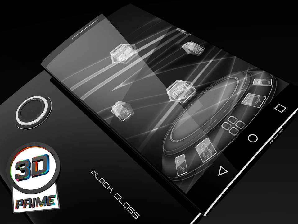 Black Glass Prime - Next Theme Screenshot 0