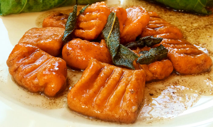 Sweet Potato Gnocchi and Brown Butter Sage Sauce Recipe | Yummly