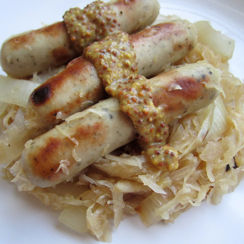 Easy Sauerkraut And Sausage