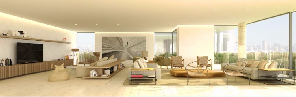 Perspectiva do Living - 549 m²