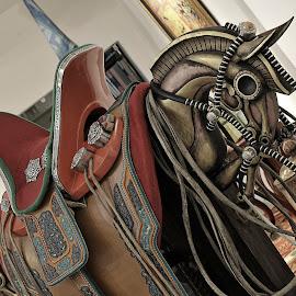 horse equipment by Tsatsralt Erdenebileg - Artistic Objects Antiques ( mongolian horse equipment, traditional antic, horse riding, traditional, antic, horse riding products )