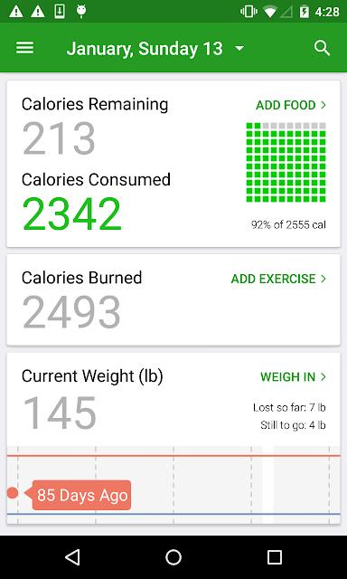 Calorie Counter by FatSecret screenshots