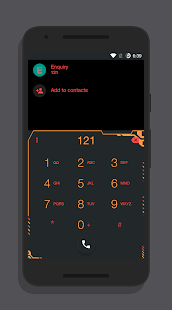 Zener Dark - CM13/12 Theme- screenshot thumbnail