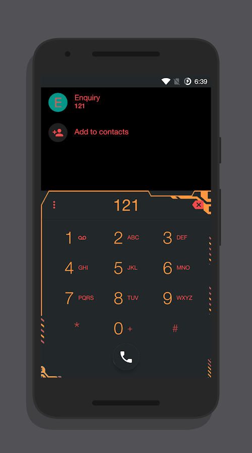 Zener Dark - CM13/12 Theme Screenshot 3