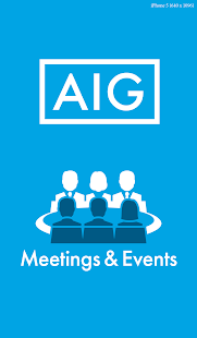 AIG Meetings & Events - screenshot