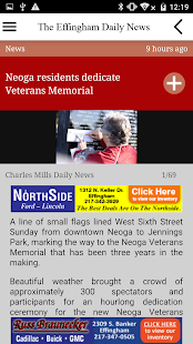 Effingham Daily News - screenshot