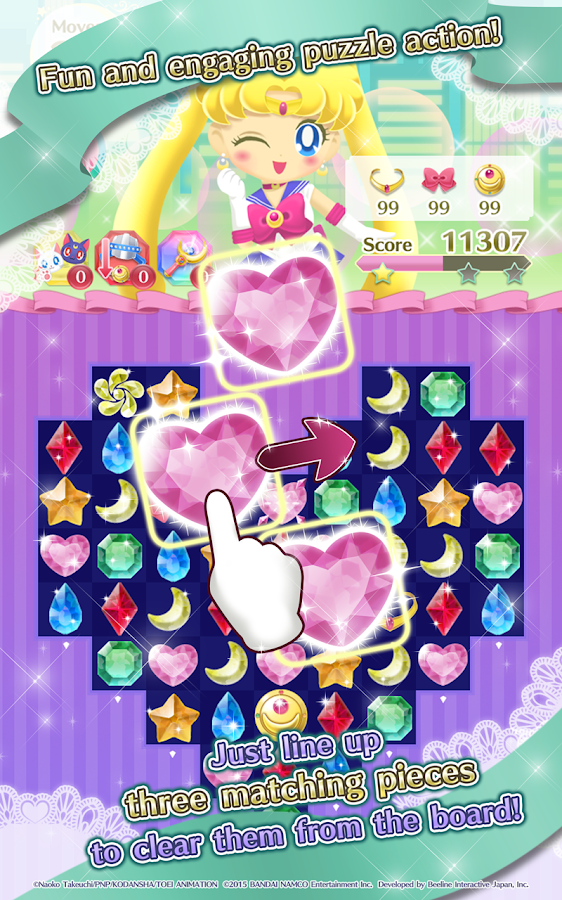 Sailor Moon Drops Screenshot 1