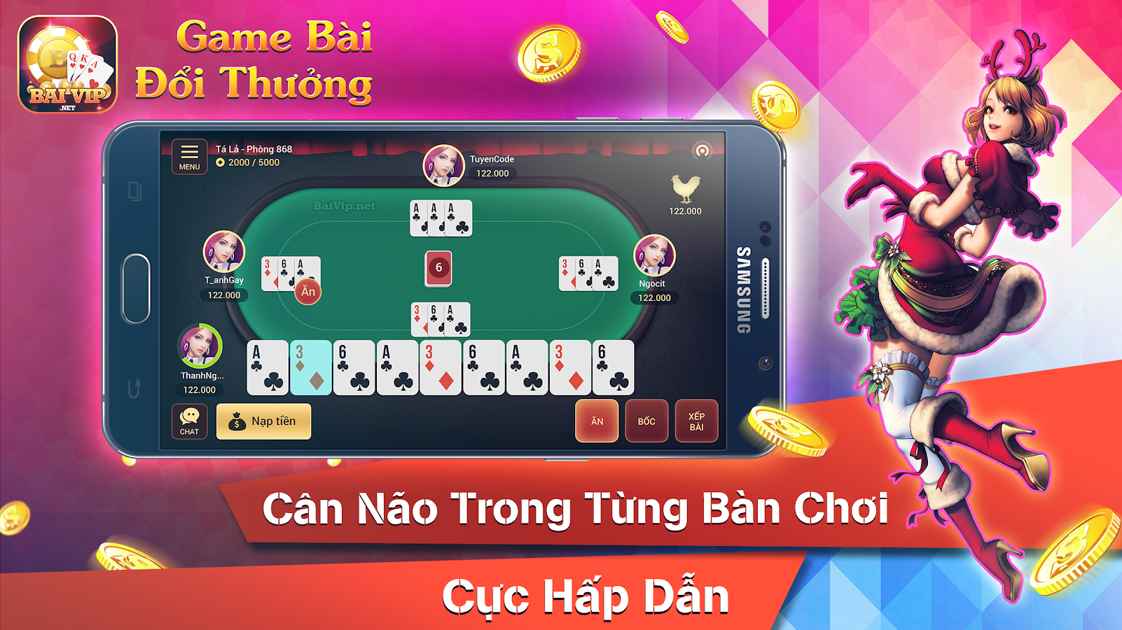 BaiVip - Game danh bai online Screenshot 8