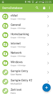 Keepass2Android Screenshot