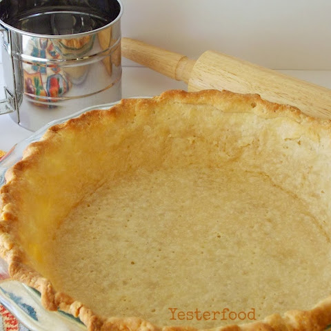Coconut Oil Pie Crust #1