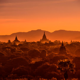 Magic Bagan by Stanley P. - Landscapes Travel ( landscapes, travel photography )