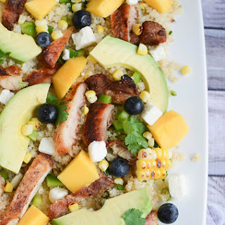 Blackened Chicken and Quinoa Salad