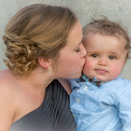 Kissible by Rita Taylor - Babies & Children Child Portraits ( child, baby love, mother, motherhood )