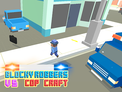 Blocky Robbers VS Cop Craft 3D APK 1.6
