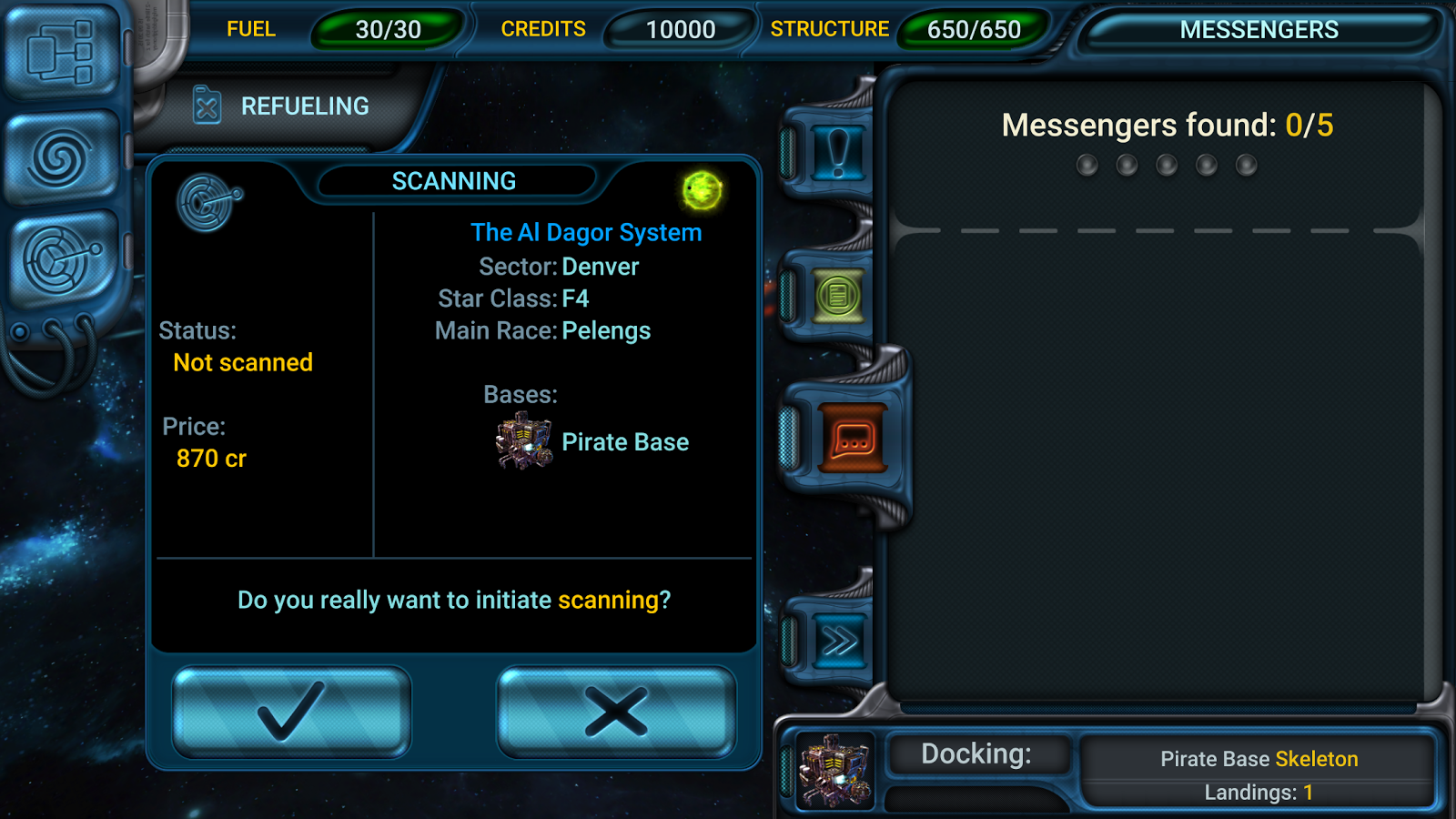 Space Rangers: Quest Screenshot 2