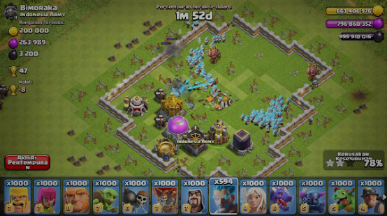 Free FHX Clash Of Lights COC APK for Windows 8