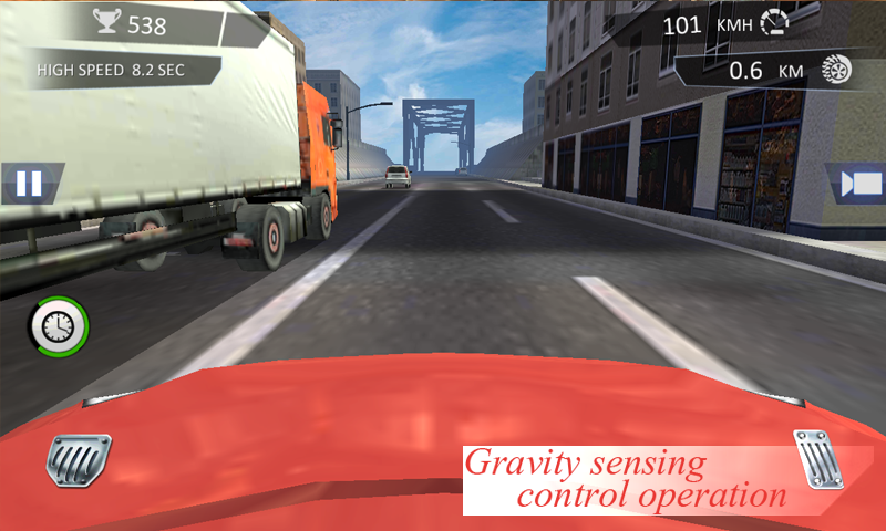 City Traffic Racer Dash Screenshot 2