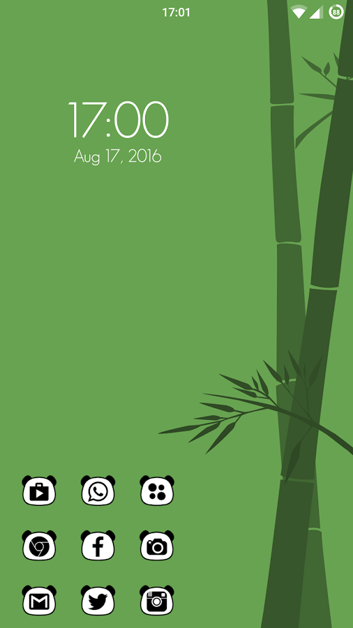 Panda Icon Pack Screenshot 1