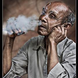 by Pankaj Ghosh - People Portraits of Men