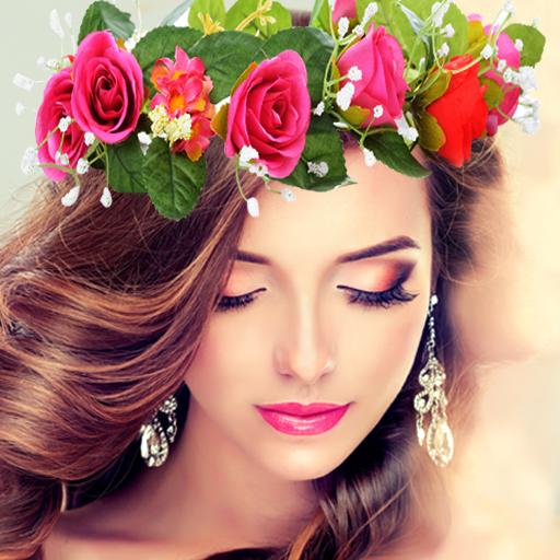 Wedding Flower Crown Photo (app)
