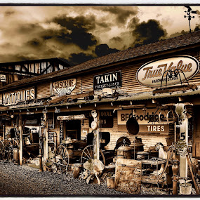 Antique Mall by Solomen Flewellen - Digital Art Places