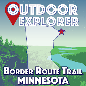 Border Route Trail - Offline Hiking Map with GPS! For PC / Windows 7/8/10 / Mac – Free Download