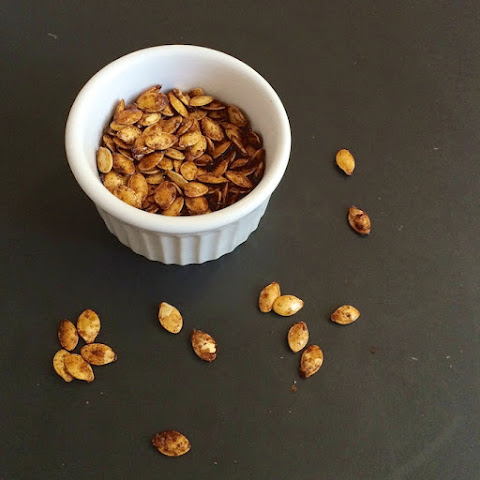 How to Roast Squash Seeds + Sugar & Spice Butternut Squash Seeds