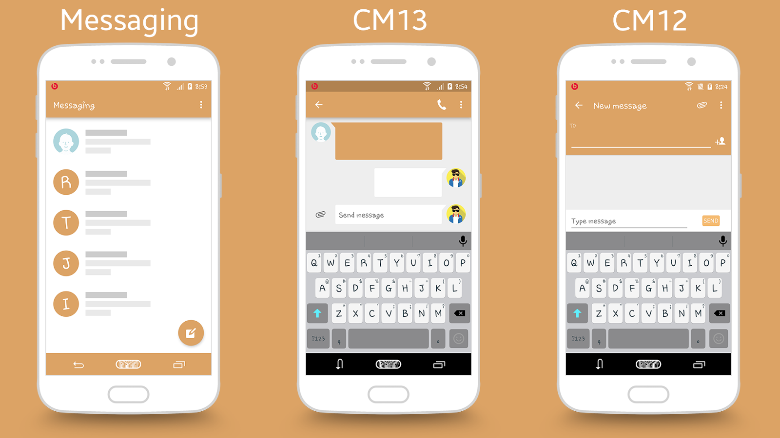 CM13/12.X GalaxyMUI Themes Screenshot 6