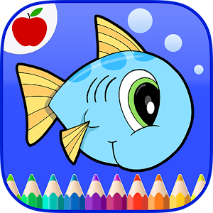 Ocean Animals Coloring Book
