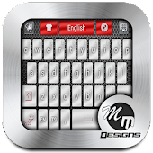 App Chrome Style GO Keyboard Theme 1.0 APK for iPhone