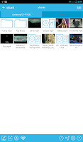 Screenshot of BUZZ Player