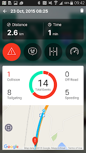 iOnRoad Augmented Driving Lite Screenshot