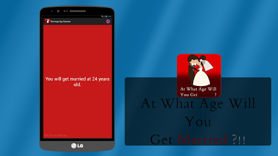 Marriage Age Detector (Prank) - screenshot