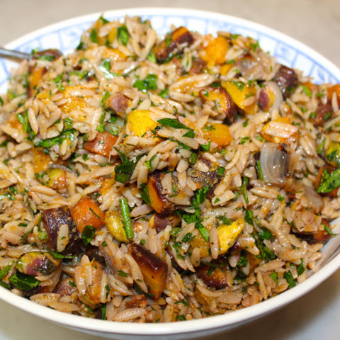 Roasted Carrot & Butternut Orzo