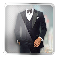 Men Fashion Suit Photo Maker