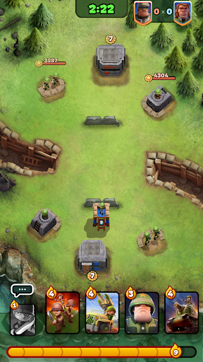 War Heroes: Clash in a Free Strategy Card Game screenshot 6