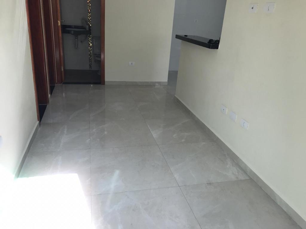 Casa com 2 dormitórios à venda, 70 m² por R$ 220.000 - Vila Caiçara - Praia Grande/SP